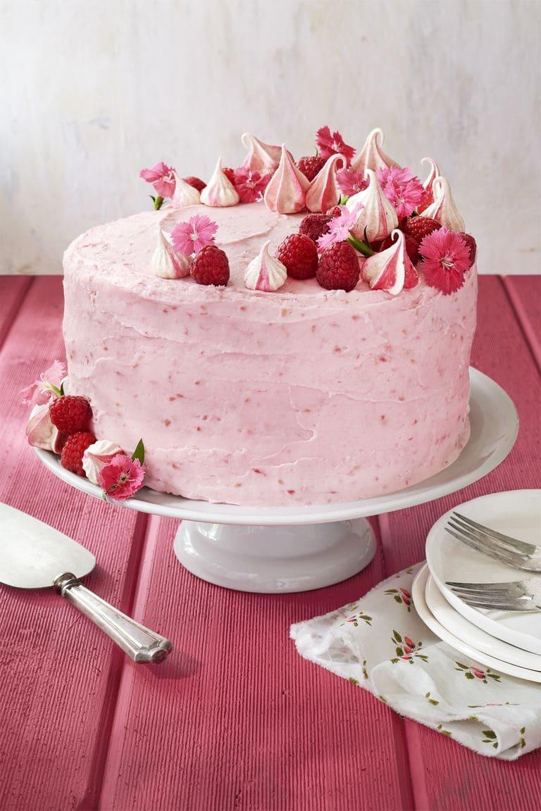 6.Simphome.com Get Raspberry Pink Velvet Cake