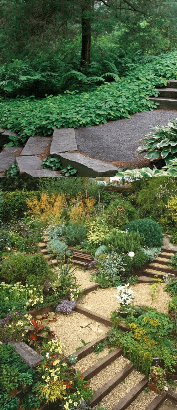 9.Simphome.com Add Steps to Your Garden