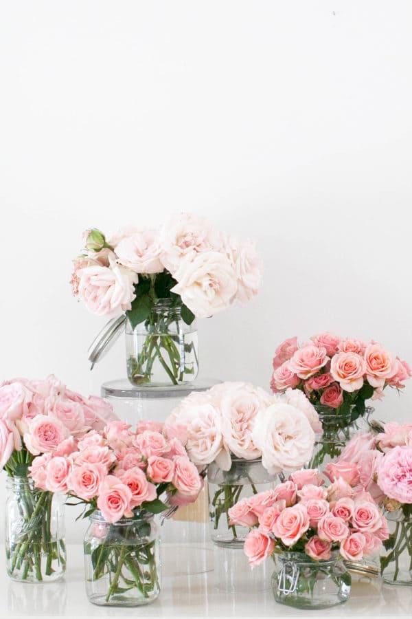 9.Simphome.com DIY Flower Bouquet idea