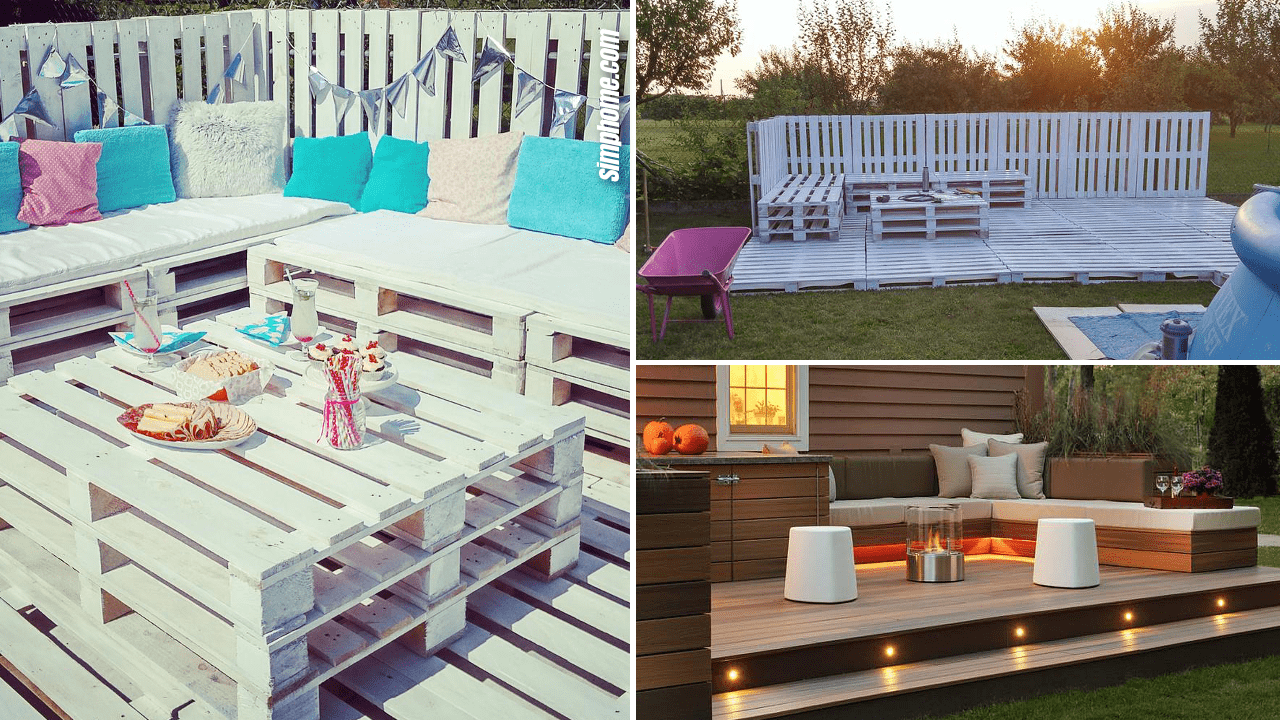 Simphome.com 10 DIY Backyard Deck Ideas Featured Image