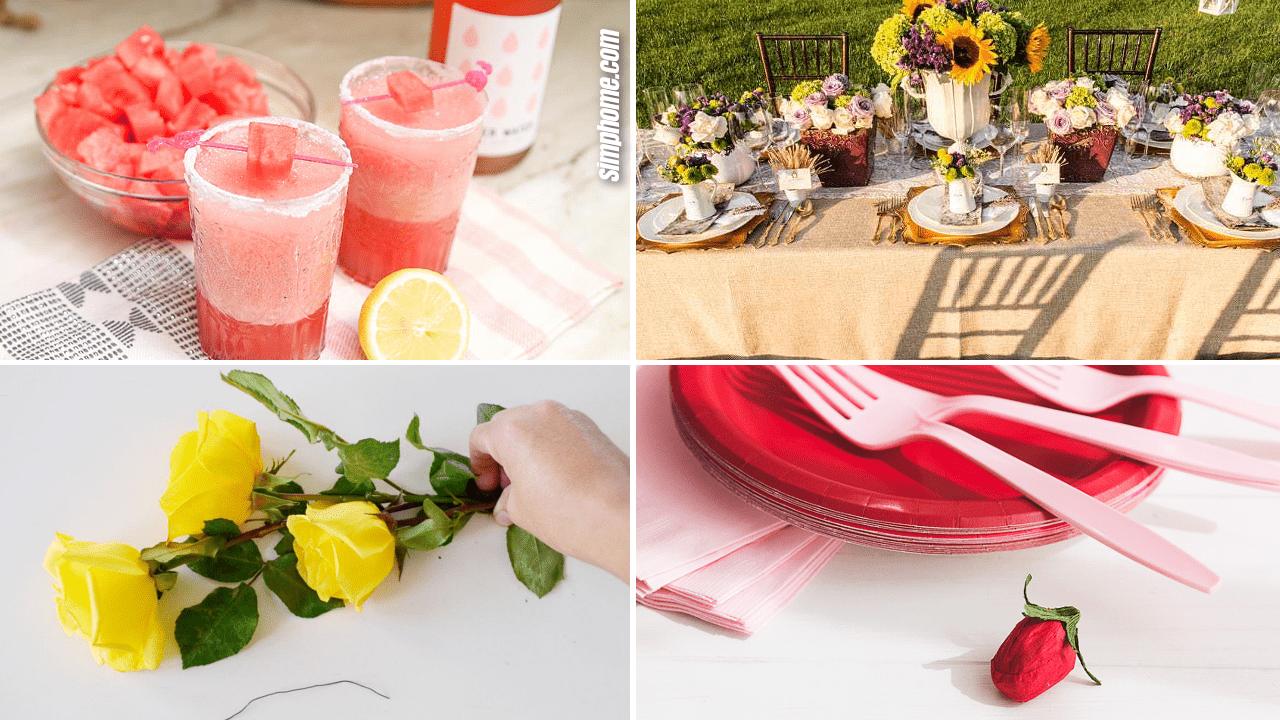 Simphome.com 10 DIY Garden Wedding Shower Ideas Featured Image