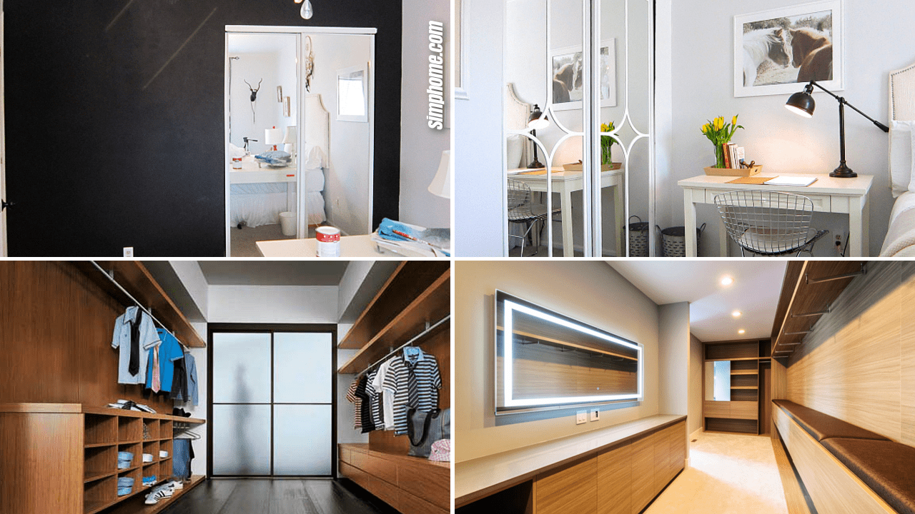 Simphome.com 10 makeover modern bedroom closet ideas Featured Image