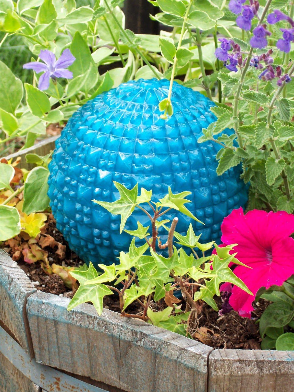Simphome.com make the best of things diy garden art super easy glass garden in 10 diy garden art ideas stylish and beautiful