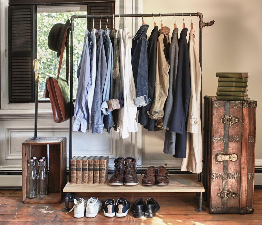 10.Simphome.com Get a Clothes Rack