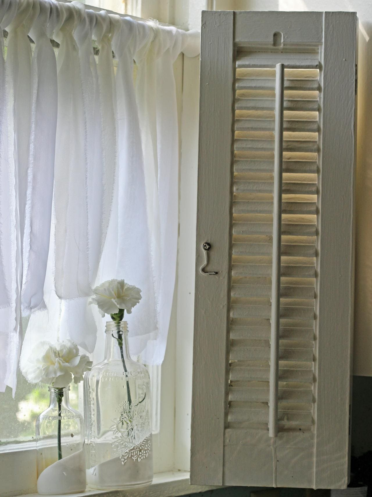 3.Simphome.com Knotted Chiffon Curtain