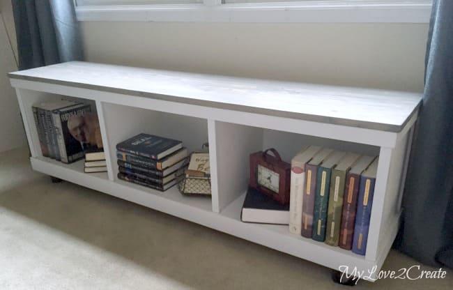 4.Simphome.com DIY Bench with Storage Project idea 2