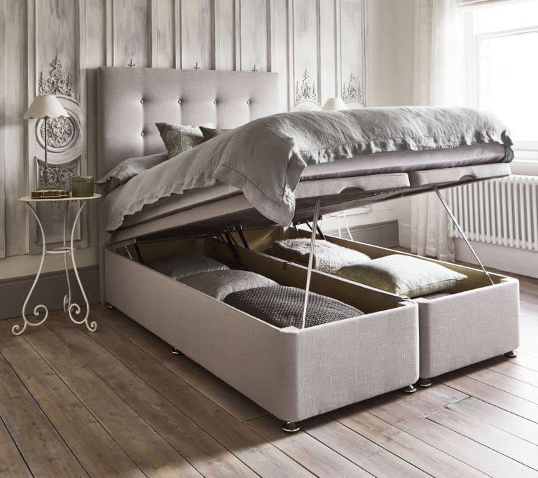 6.Simphome.com Ottoman Storage Bed