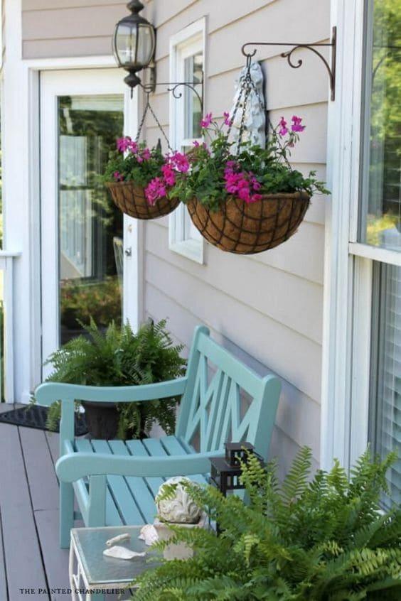 7.Simphome.com Hang Planters in the Porch or Patio