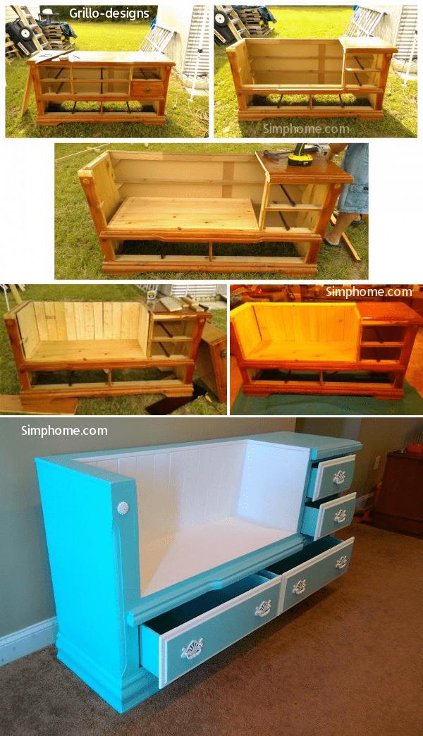 8.Simphom.com . Half Bench Dresser