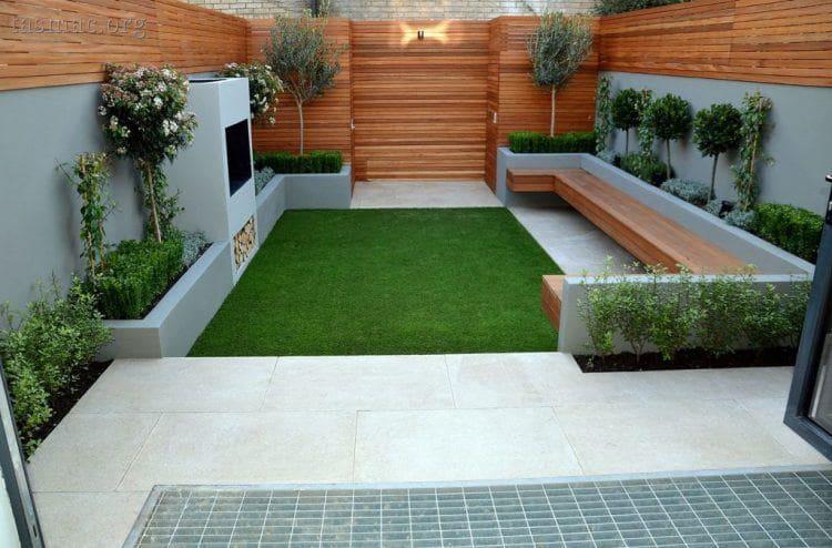 9.Simphome.com Modern Small Garden Ideas