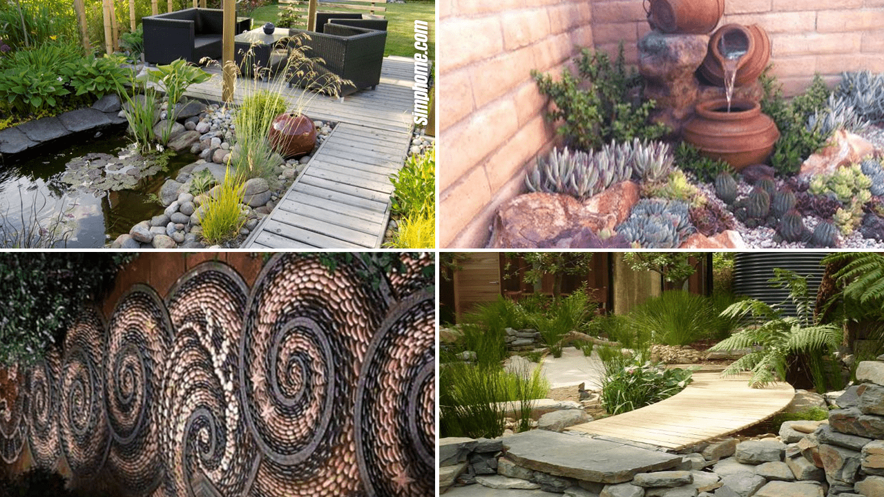 10 Awesome and Stylish Rock Garden ideas - Simphome