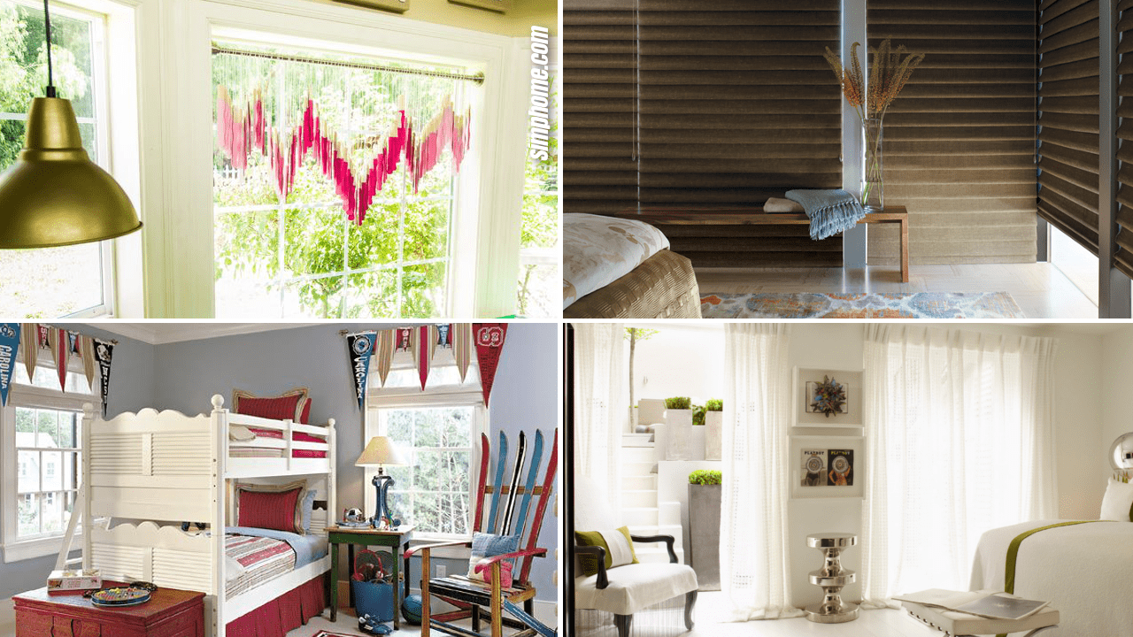 Simphome.com 10 Bedroom Window Treatment Ideas Featured Image