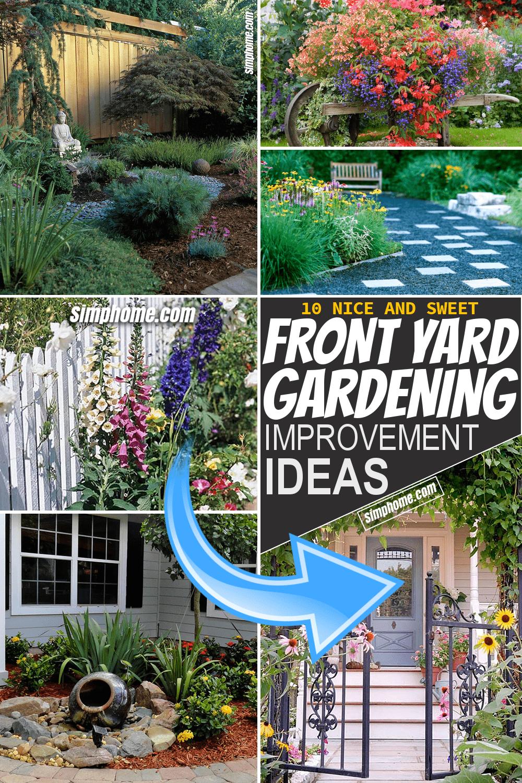 Simphome.com 10 Front Yard Gardening Ideas Pinterest image Long