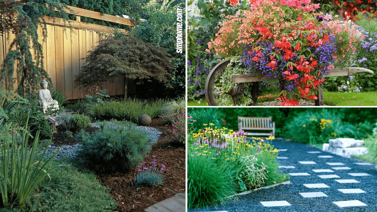 Simphome.com 10 Front Yard Gardening Ideas