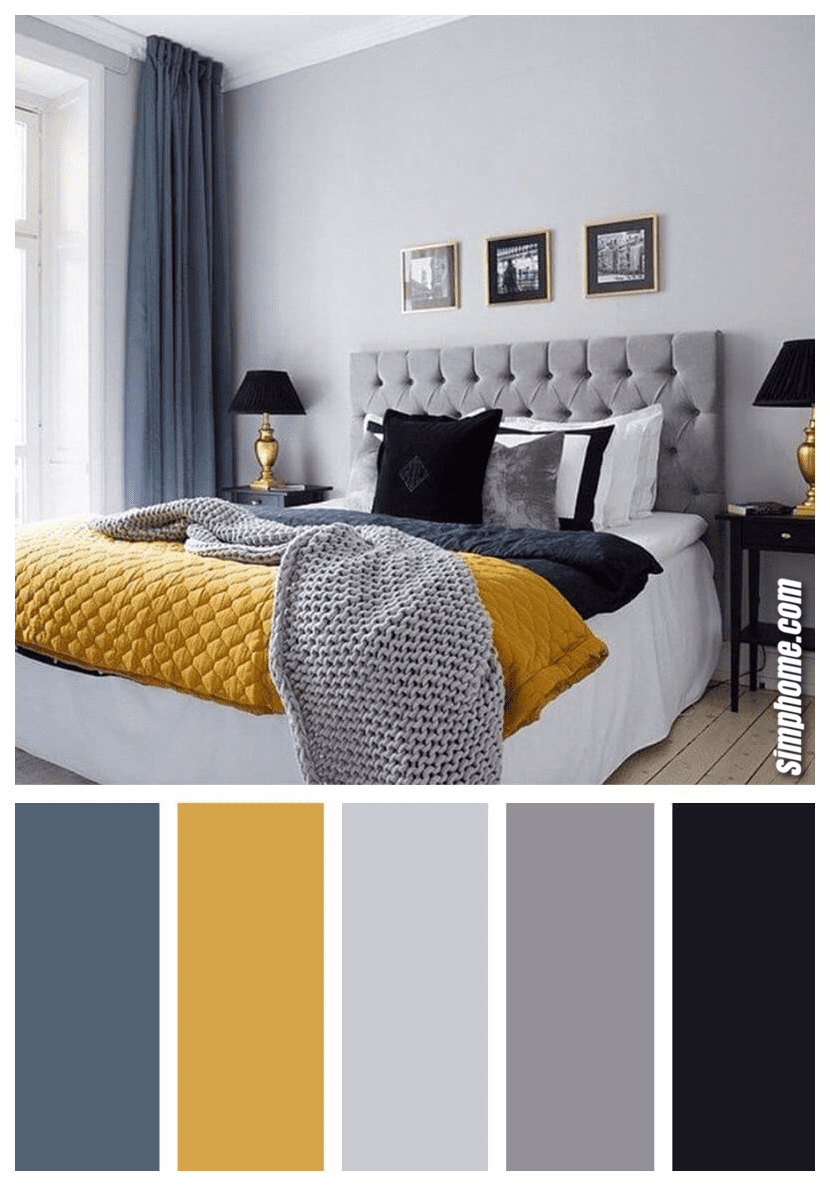 Simphome.com A Nice bedroom color scheme ideas to create a magazine worthy bedroom color palette ideas