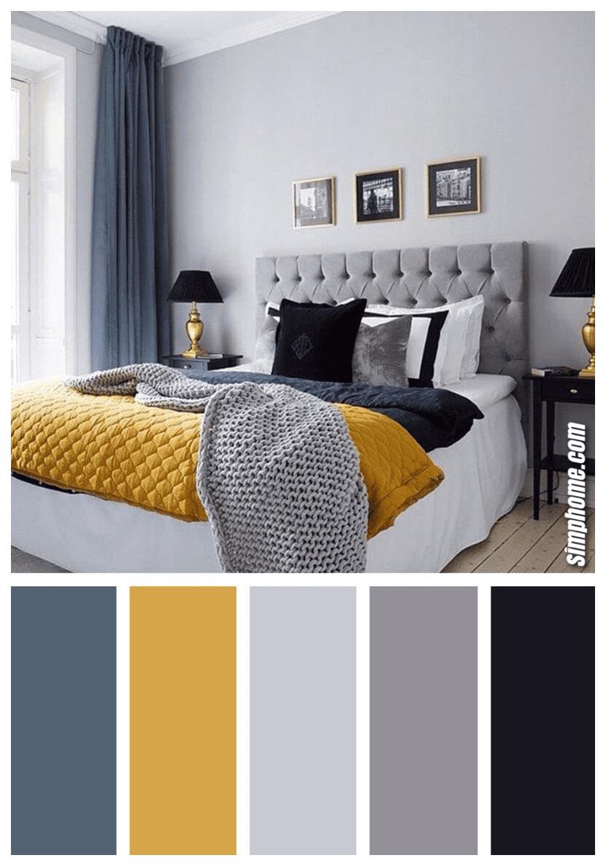 Simphome.com A Nice bedroom color scheme ideas to create a magazine worthy bedroom color palette ideas