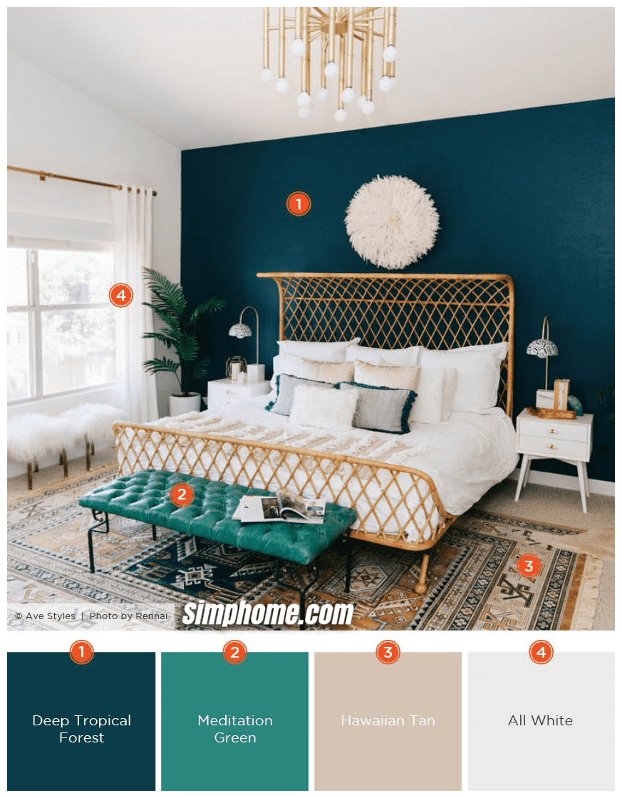 Simphome.com A dreamy bedroom color schemes shutterfly throughout bedroom color palette ideas