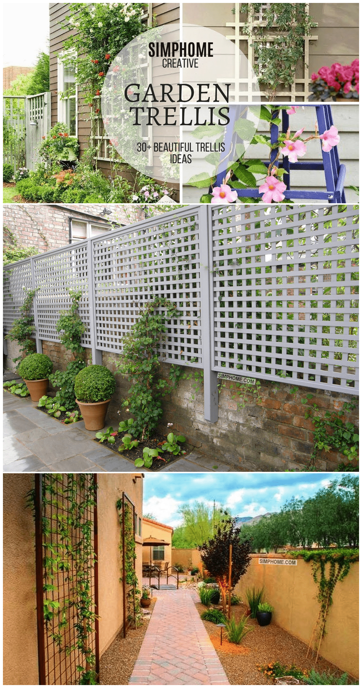 Simphome.com Garden trellis ideas creative ones best for 2020 2021 2022