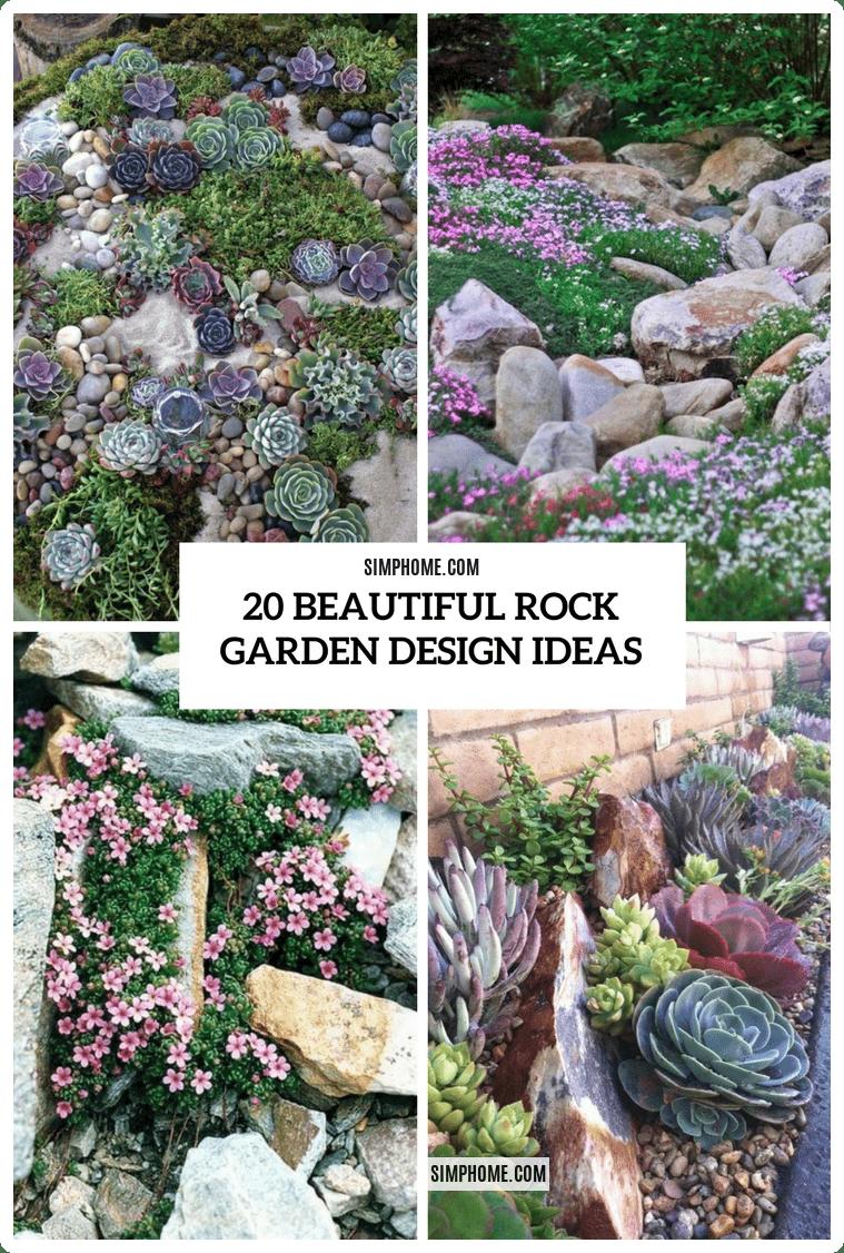 Simphome.com beautiful rock garden design ideas shelterness for 2020 2021 2022