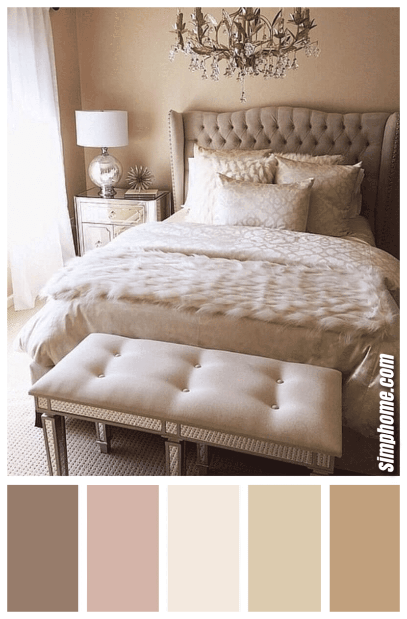 Simphome.com best bedroom color scheme ideas and designs for 2020