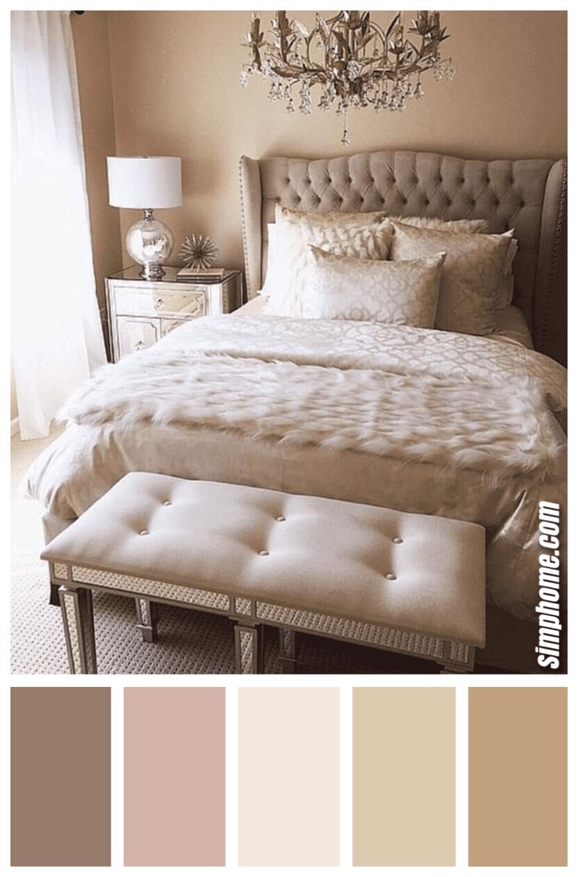 Simphome.com best bedroom color scheme ideas and designs for 2020