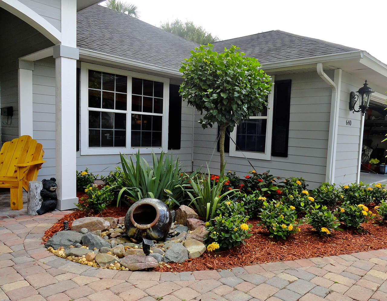 Simphome.com front yard landscaping ideas and garden designs for 2020 2021 2022
