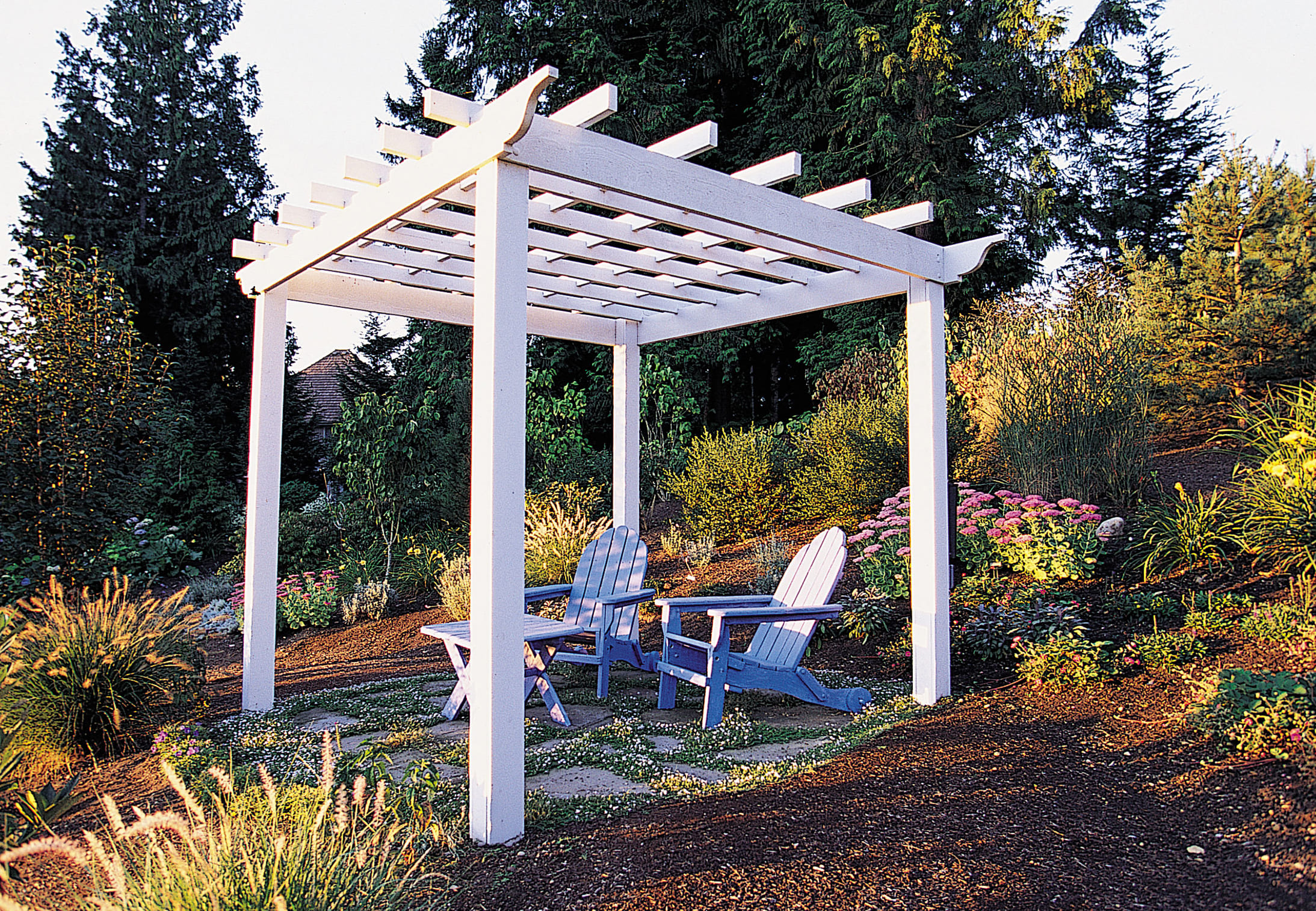 Simphome.com how to make a great garden trellis or arbor sunset magazine for garden trellis ideas