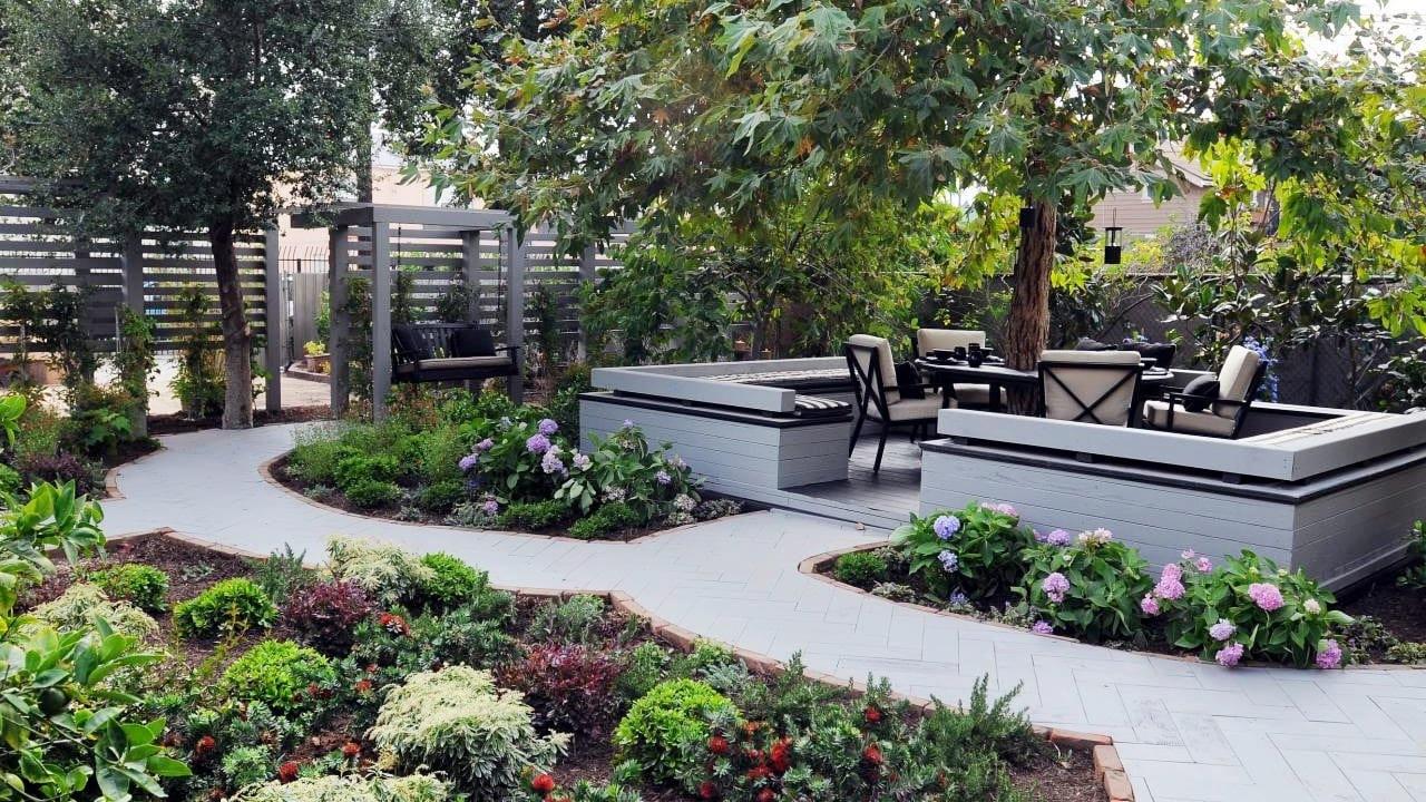 Simphome.com small backyard landscaping ideas backyard garden ideas youtube