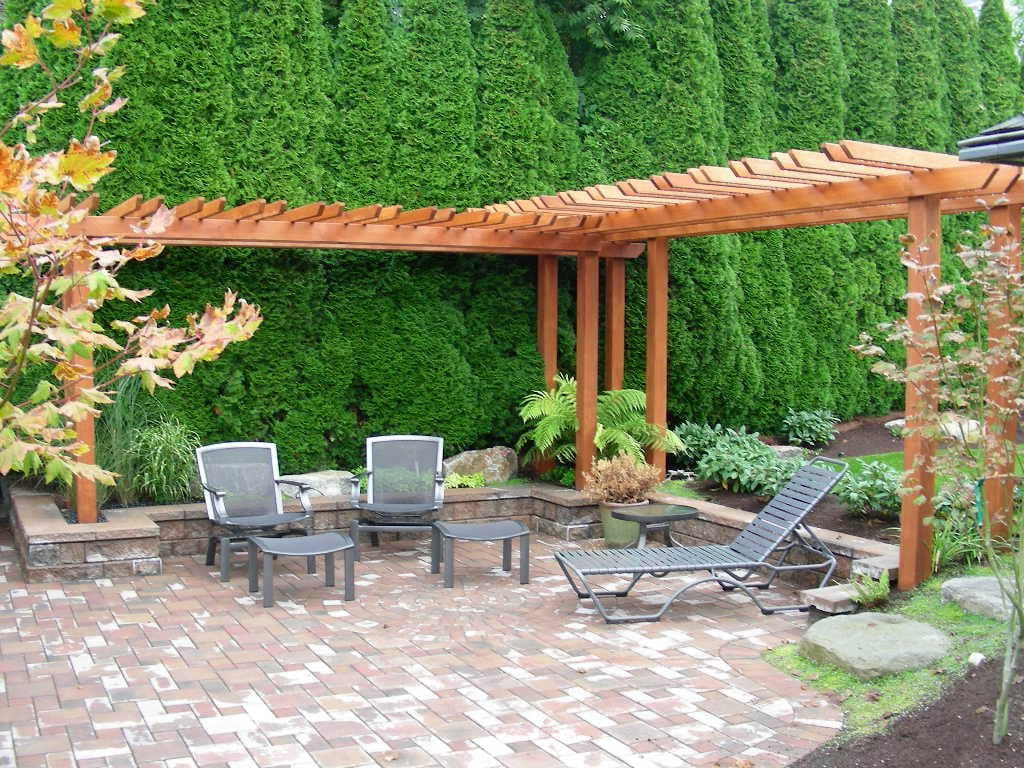 Simphome.com small yard garden ideas backyard gardening
