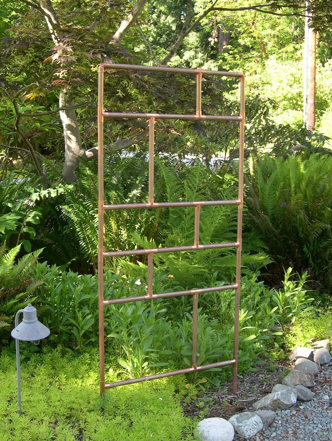 Simphome.garden trellis ideas this one is 5 feet tall 3 feet wide for 2020 2021 2022