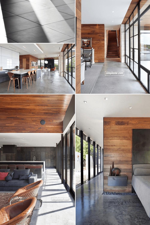 1.Simphome.com Concrete Flooring Project idea
