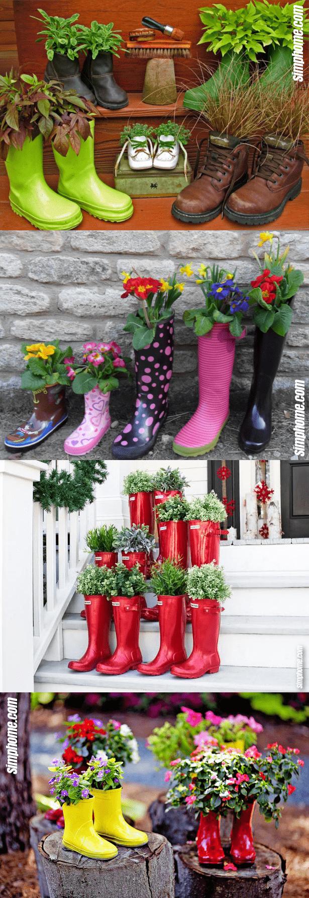 1.Simphome.com Plants in Boots