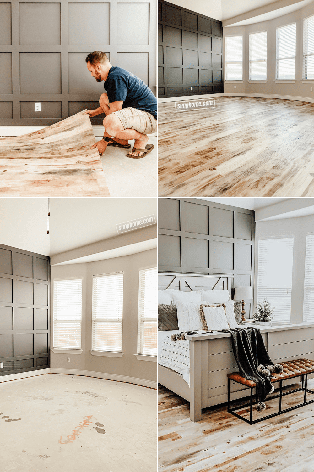 4 Bedroom Flooring Makeover Ideas - Simphome