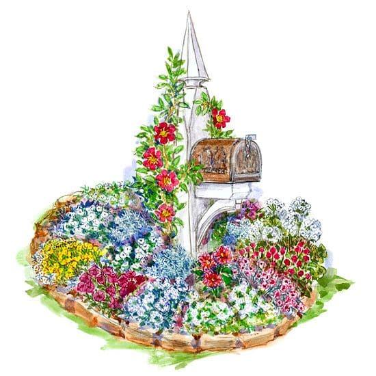 10.Simphome.com Mailbox Small Garden 1