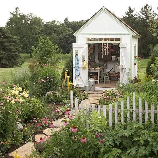 10.Simphome.com A Shed playhouse garden Project idea 1