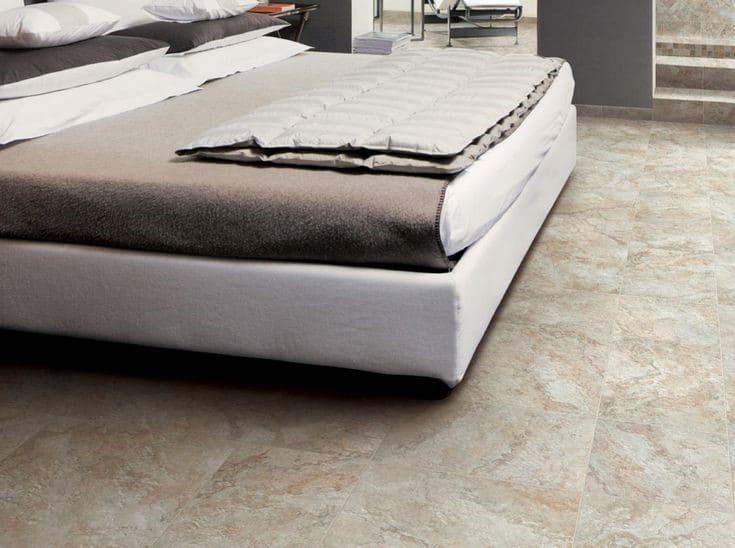 3.Simphome.com Marble Look Tile Flooring Project idea