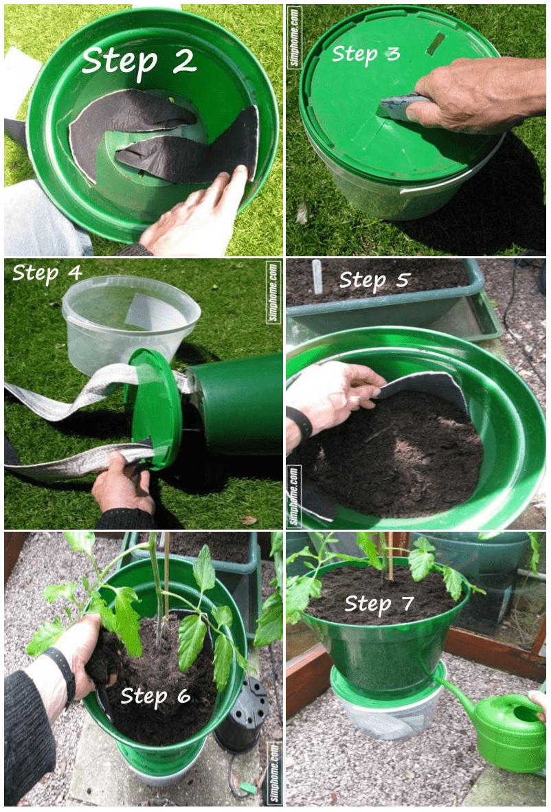 4.Simphome.com Self Watering Tomato Planters