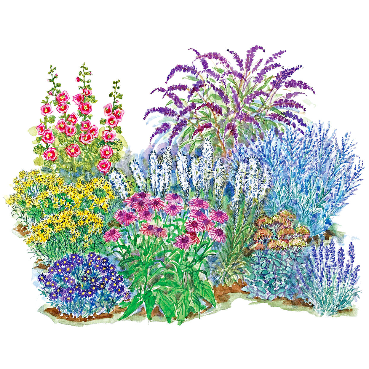 5.Simphome.com No Fuss Small Garden Plan 2
