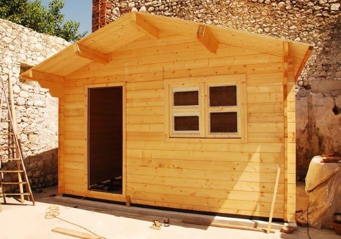 6.Simphome.com Wooden Shed Project Idea 1