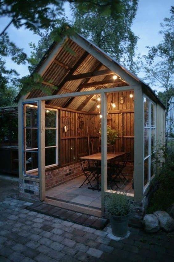 6.Simphome.com Wooden Shed Project Idea 2