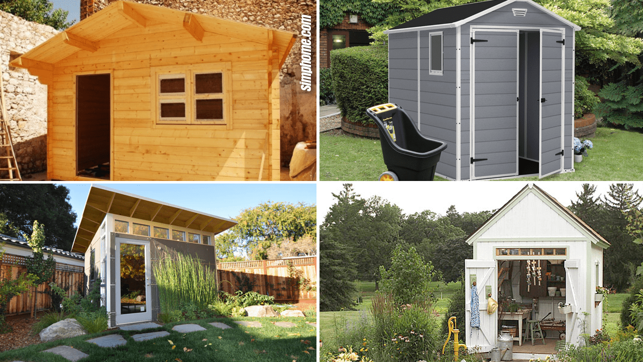 Simphome.com 10 Gardening Shed Ideas Featured image