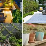 Simphome.com 10 Small Courtyard Garden Ideas Featured image