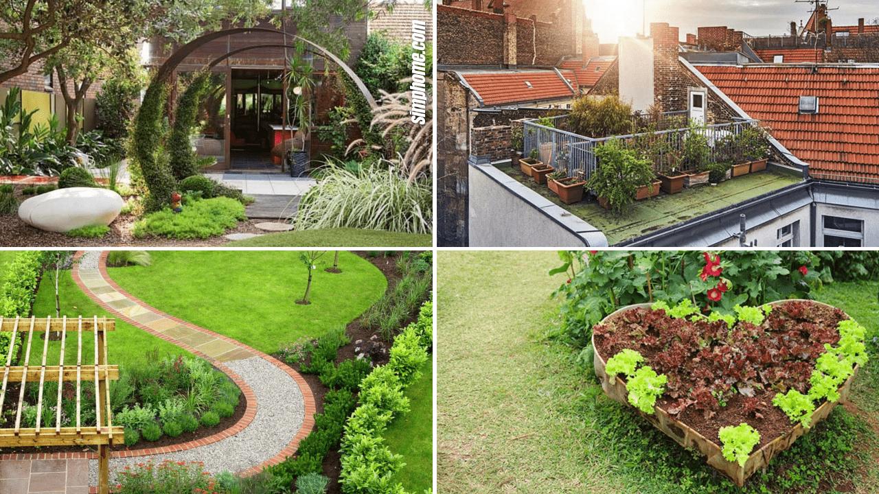 Simphome.com 10 Small Garden Plans Featured image