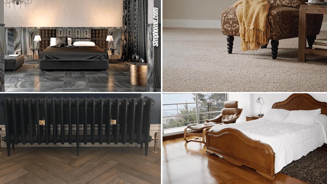 Simphome.com 10 bedroom flooring makeover ideas