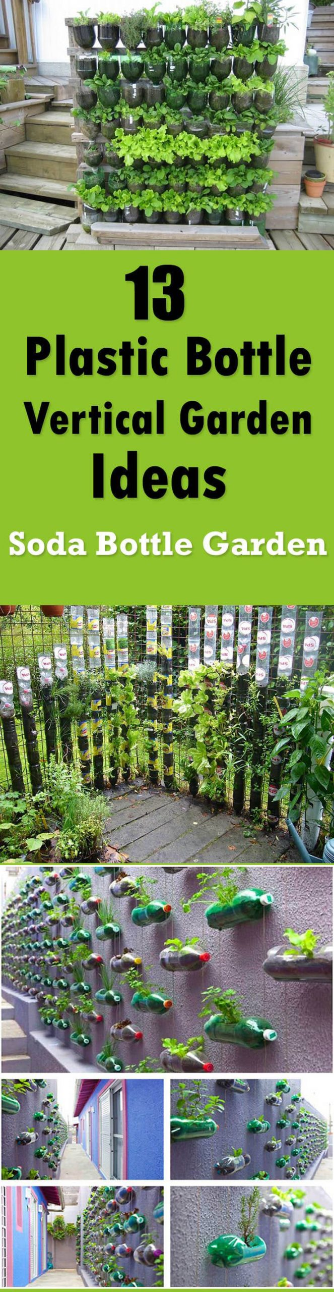 Simphome.com 13 plastic bottle vertical garden ideas soda bottle garden inside 10 recycle ideas for garden incredible as well as attractive