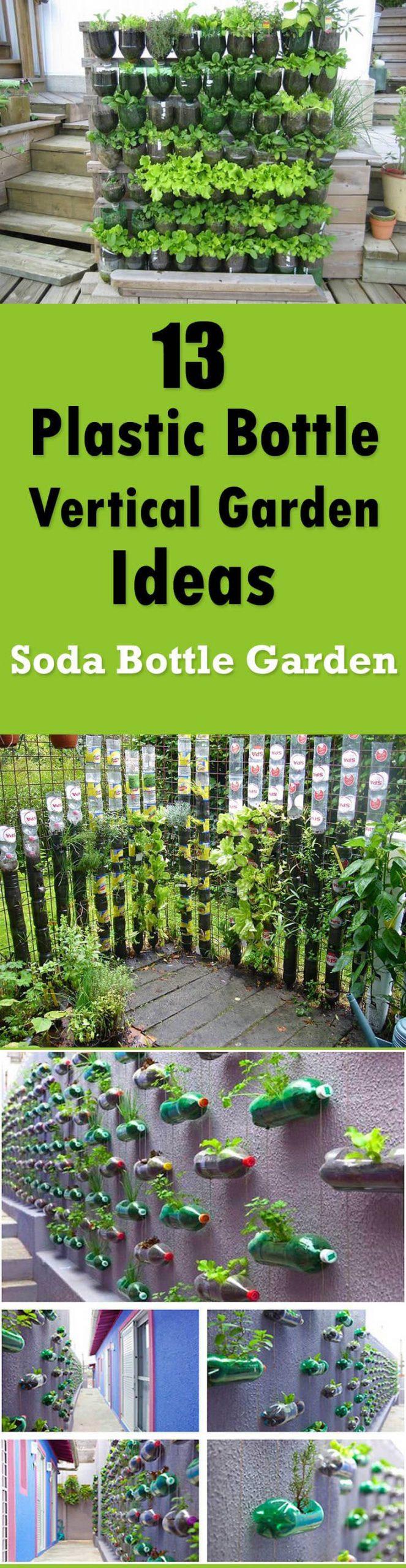 Simphome.com 13 plastic bottle vertical garden ideas soda bottle garden inside 10 recycle ideas for garden incredible as well as attractive
