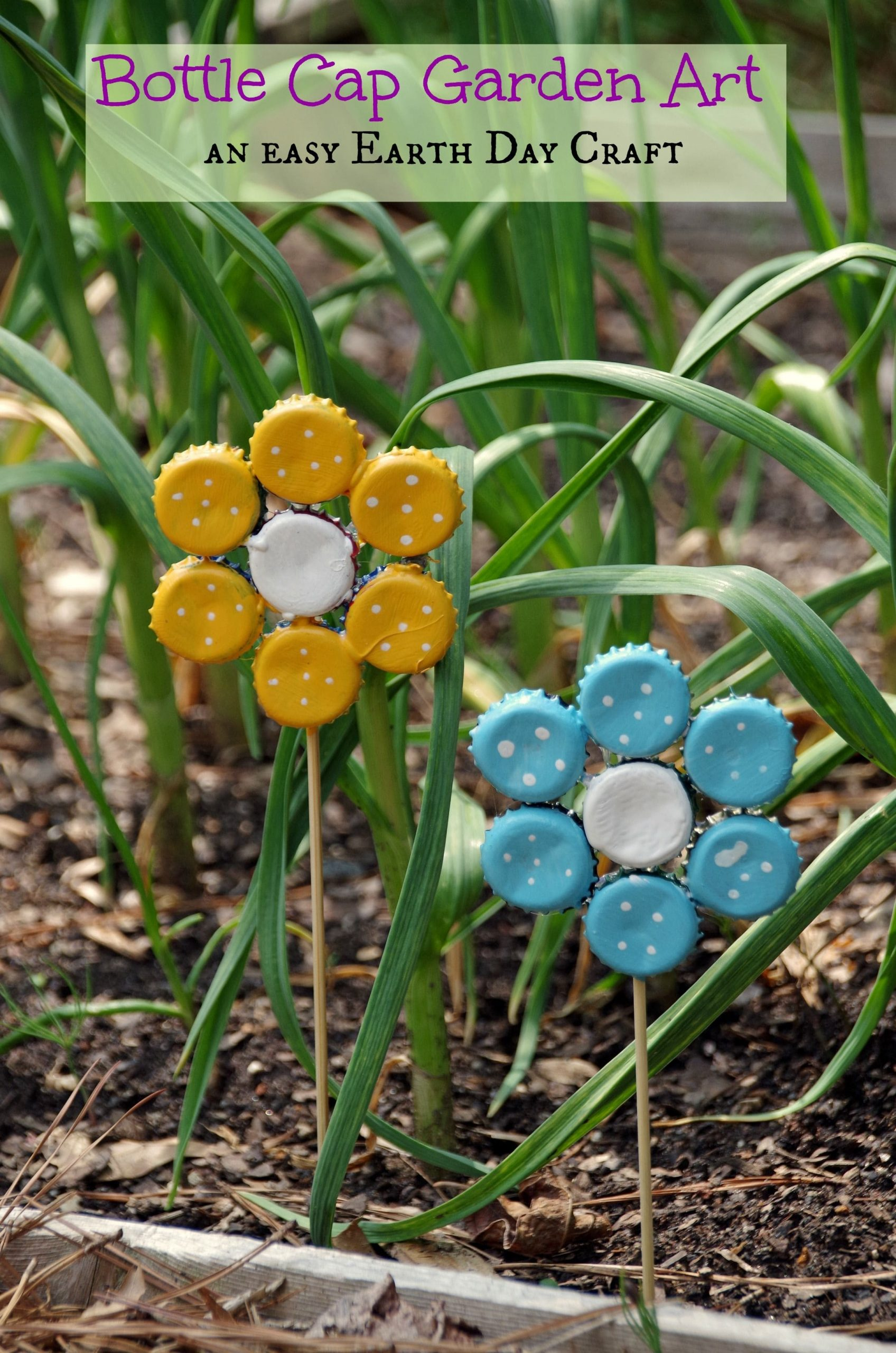 Simphome.com 17 creative ways to reuse old bottle caps get ready for summer throughout recycle ideas for garden
