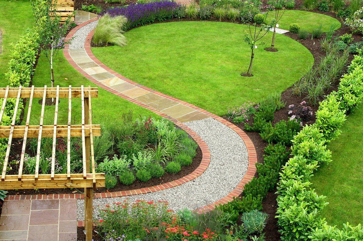 Simphome.com fresco of garden pathways designs garden garden design garden inside small garden plans ideas