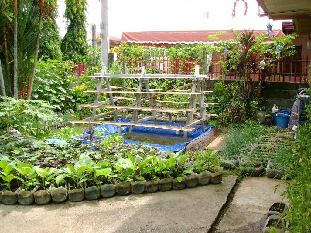 Simphome.com small vegetable garden plans backyard