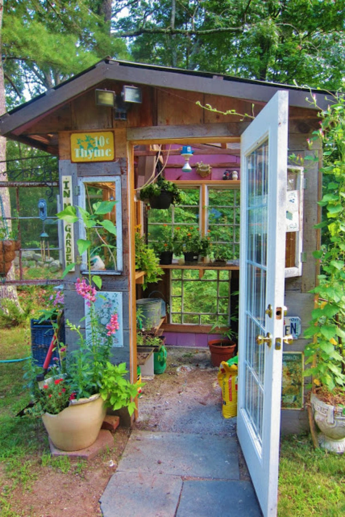 Simphome.com whimsical garden shed designs 2020 2021 2022